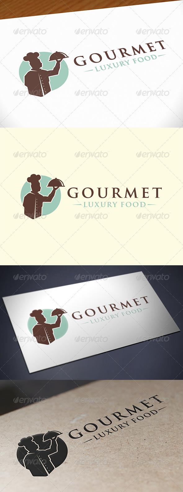 GraphicRiver Restaurant Bistro Logo 7764557