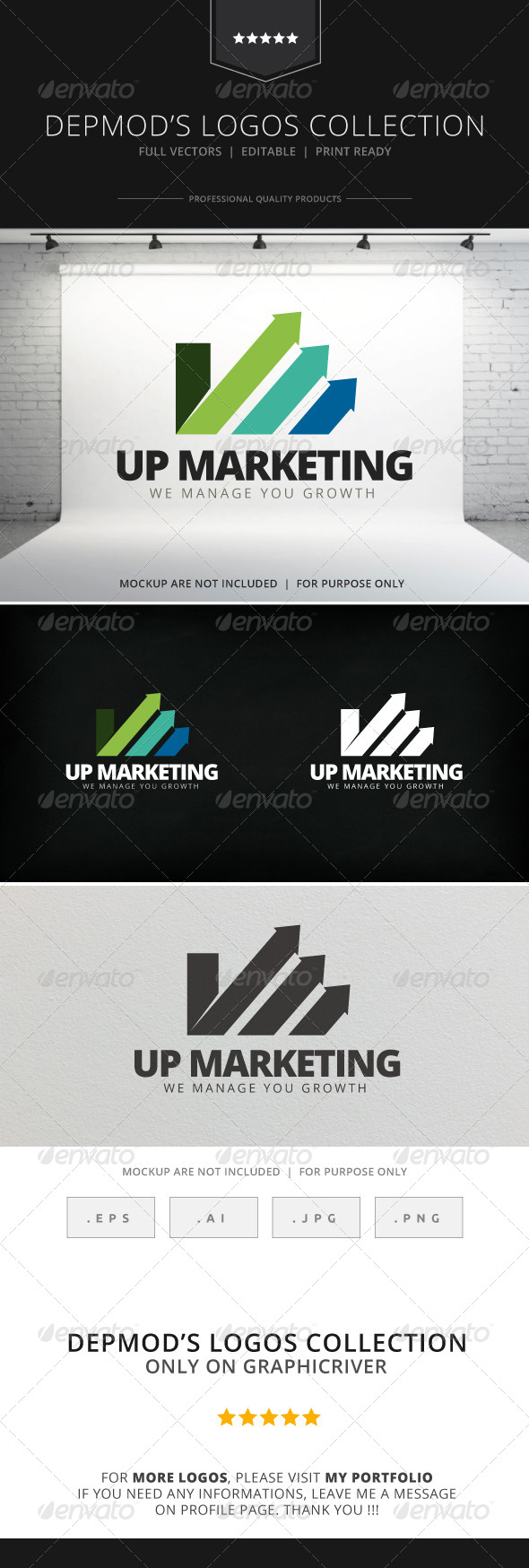 GraphicRiver Up Marketing Logo 7765650