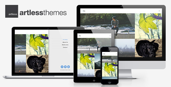 ThemeForest Vinz Multipurpose Portfolio HTML Template 7765654