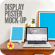 Display Poster Workspace Mock-Up - GraphicRiver Item for Sale