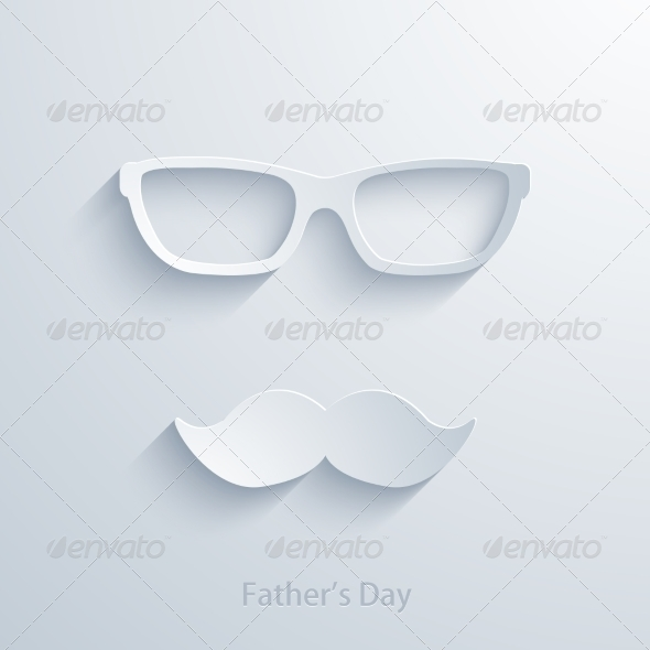 GraphicRiver Fathers Day Background 7766338