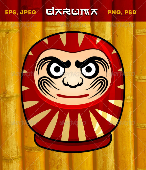 GraphicRiver Daruma Doll 7766346