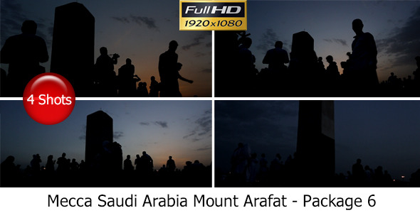 VideoHive Mecca Saudi Arabia Mount Arafat Package 6 7768784