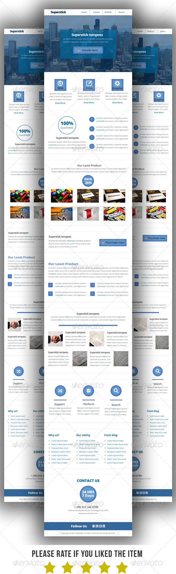 GraphicRiver Multipurpose E-Newsletter Template V2 7770129
