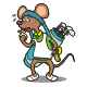 Tired Caddy Rat - GraphicRiver Item for Sale