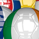 3D Soccer Ball - EU Flags Pack 5 - VideoHive Item for Sale
