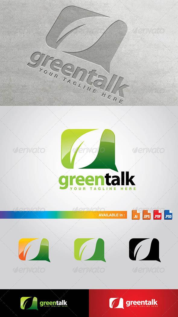 GraphicRiver GreenTalk Logo 7751900