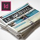 InDesign Newspaper Template 5 Columns - GraphicRiver Item for Sale