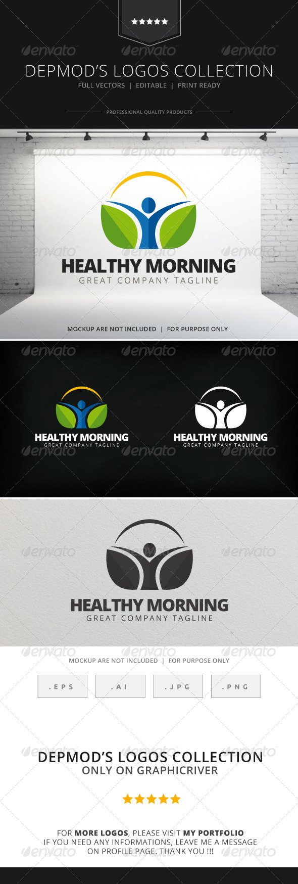 GraphicRiver Healthy Morning Logo 7772135