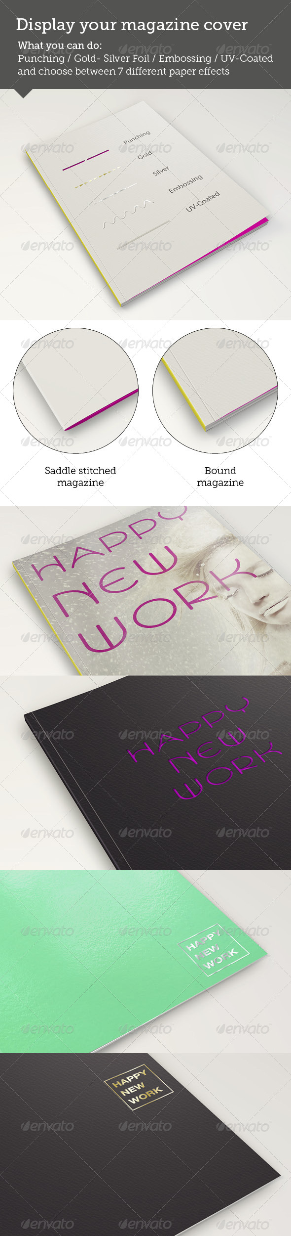 GraphicRiver Magazine MockUp Cover Simulation 7772240