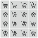 Vector Black  Shopping Cart  Icons Set - GraphicRiver Item for Sale