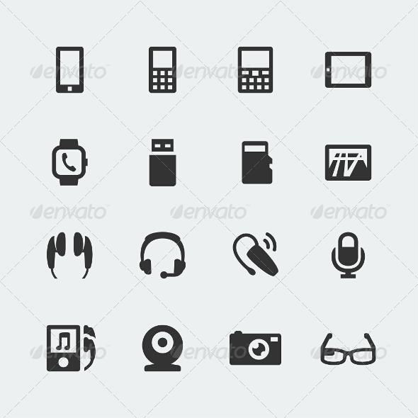 GraphicRiver Gadget Icons 7772804