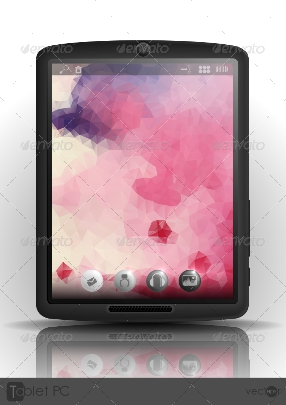 GraphicRiver Tablet Computer & Mobile Phone 7772992