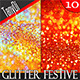 Glitter Festive Backgrounds - GraphicRiver Item for Sale
