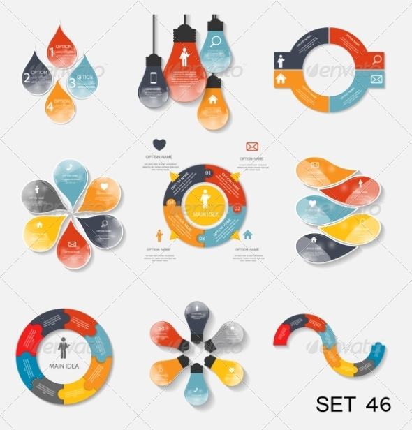 GraphicRiver Collection of Infographic Templates for Business 7775981
