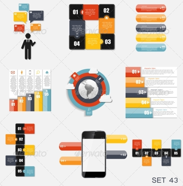 GraphicRiver Collection of Infographic Templates for Business V 7775995