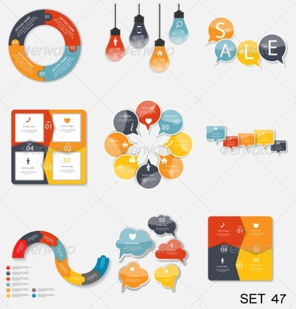 GraphicRiver Collection of Infographic Templates for Business V 7776000