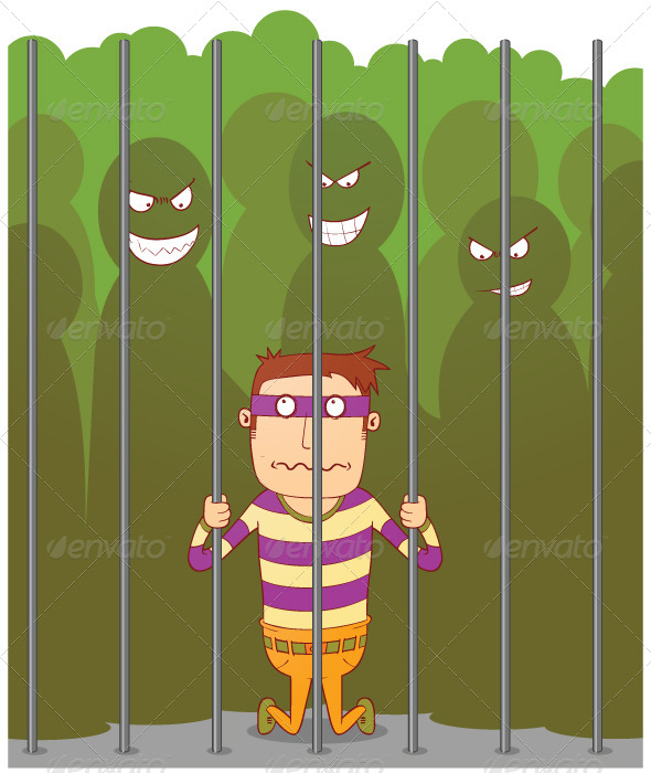 GraphicRiver Bullying in a Jail 7776003