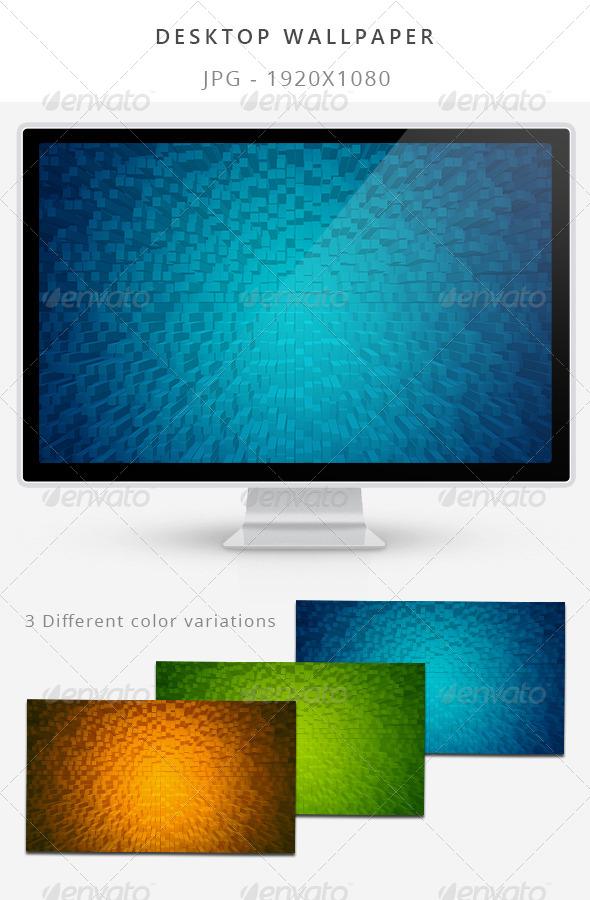 GraphicRiver 3D Wallpaper 7776005