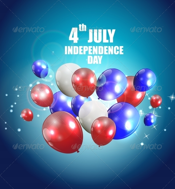 GraphicRiver Independence Day Poster Vector Illustration 7776087