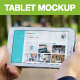 8 White Galaxy Tablet Mockups in Green Park - GraphicRiver Item for Sale