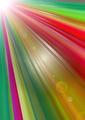 DivergentColorfulBright Rays of GlowingAngle - PhotoDune Item for Sale