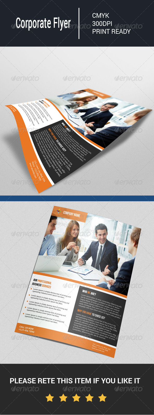 GraphicRiver Corporate Flyer 7778396