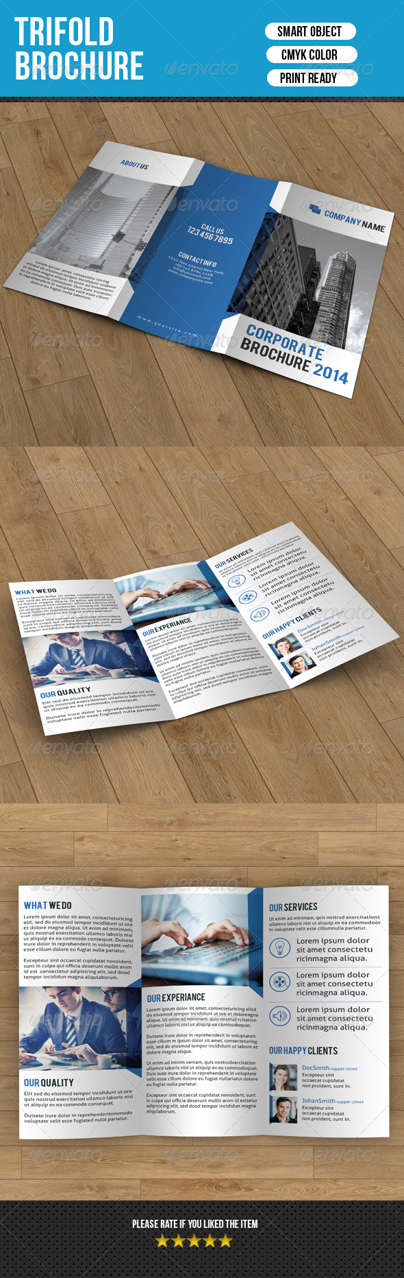 GraphicRiver Trifold Business Brochure-V04 7778793