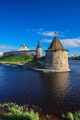Tower of the Pskov Kremlin in the evening - PhotoDune Item for Sale