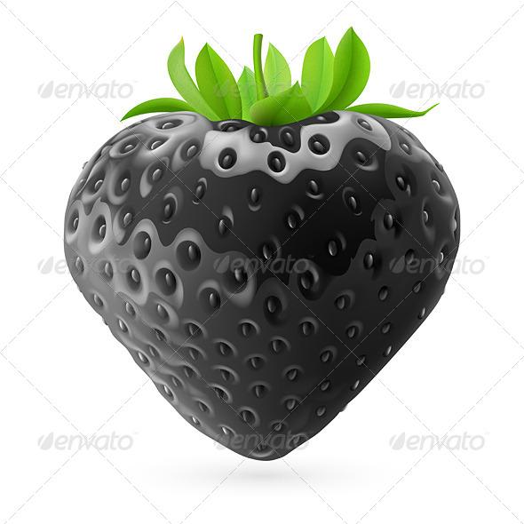 GraphicRiver Black Strawberry 7781682