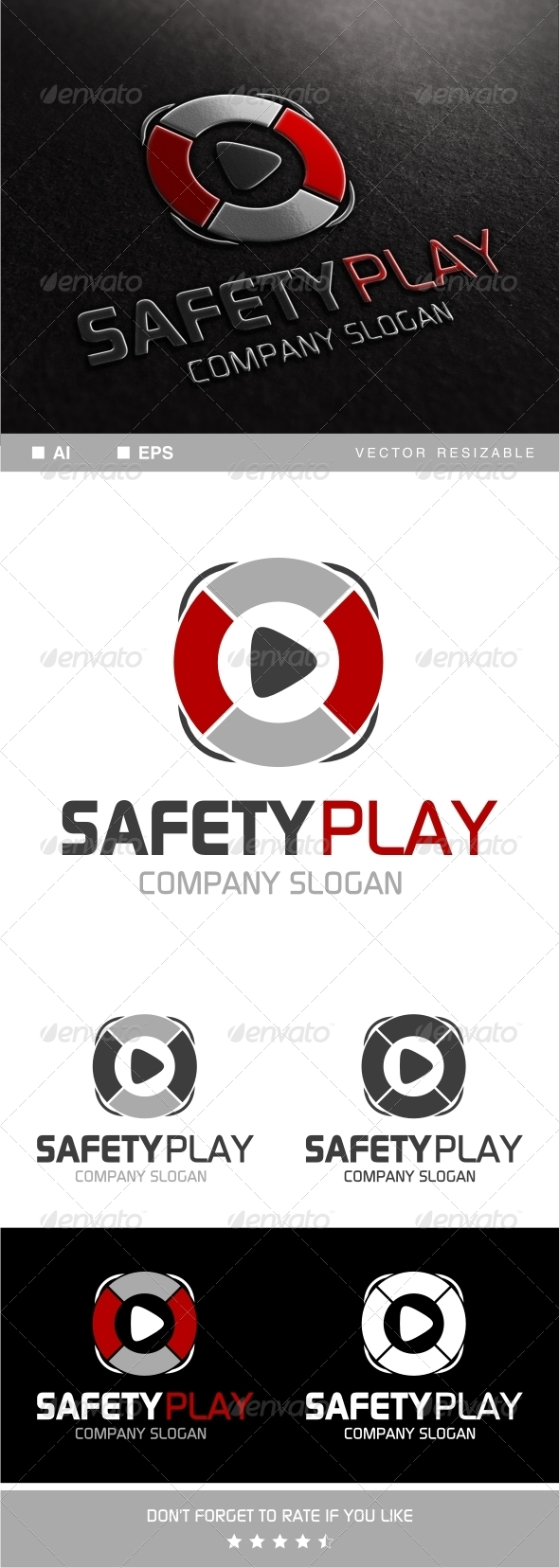 GraphicRiver Safety Play Logo 7781713