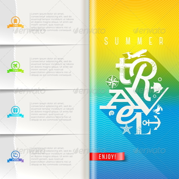 GraphicRiver Summer Travel Template Design 7781957