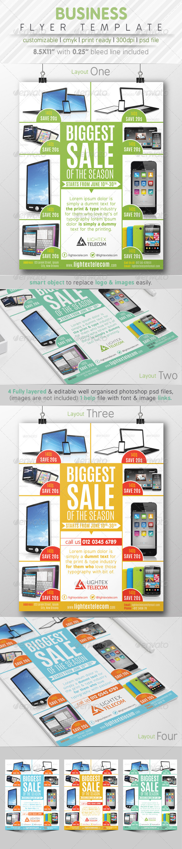 GraphicRiver Business Flyer Template 7782014