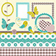 Vintage Scrapbook Elements - GraphicRiver Item for Sale