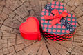 Heart Shape Gift Box on the Wood Trunk - PhotoDune Item for Sale