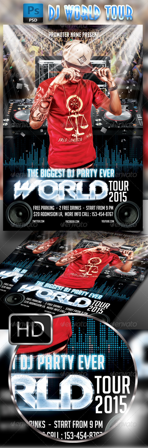 GraphicRiver DJ World Tour 7783552