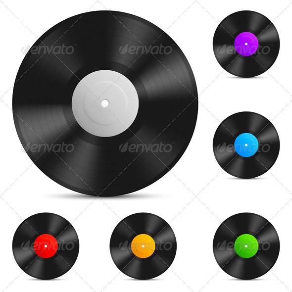GraphicRiver Vinyl Records 7783959