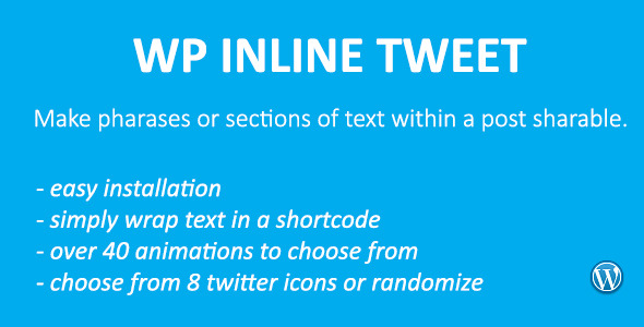 CodeCanyon WP Inline Tweet 7784794