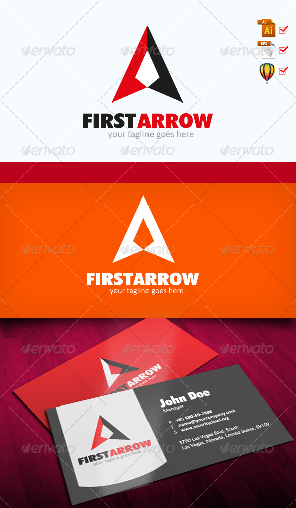 GraphicRiver First Arrow 7736419