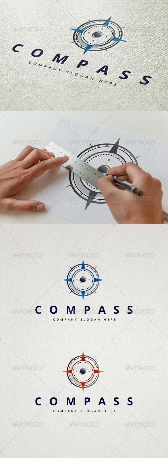 GraphicRiver Compass Logo 7785369