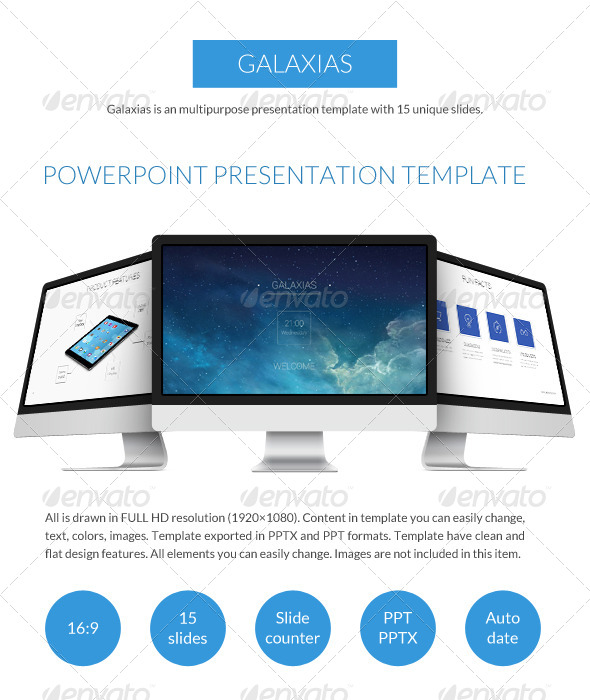 GraphicRiver Galaxias Business Power Point Presentation 7785423
