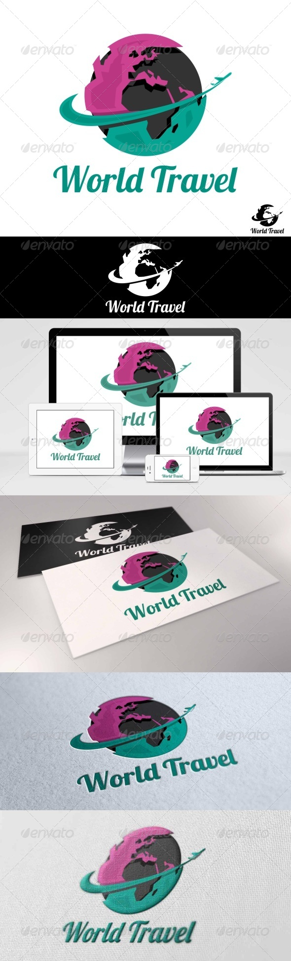 GraphicRiver World Travel Logo 7765910