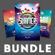 Summer Flyer Bundle Vol.04 - GraphicRiver Item for Sale