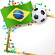 Brazilian Soccer Themed Signboard - GraphicRiver Item for Sale
