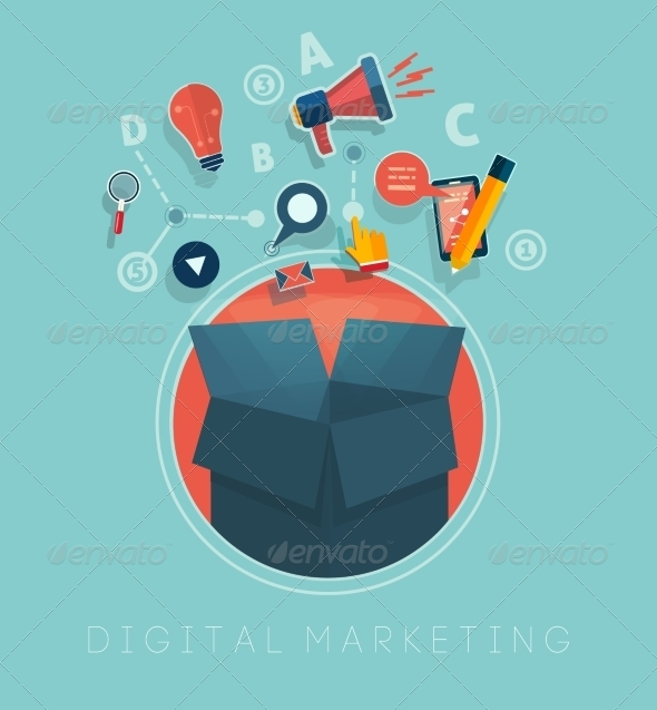 GraphicRiver Digital Marketing 7789242
