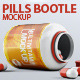 Pills Bootle Mock-up - GraphicRiver Item for Sale