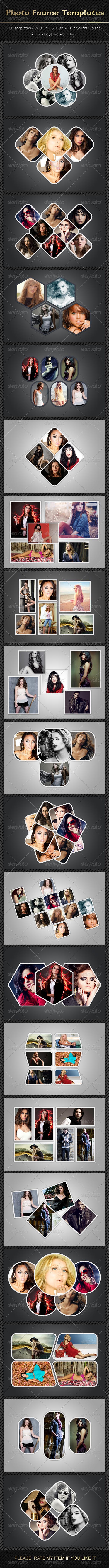 GraphicRiver Photo Frame Templates 7790361