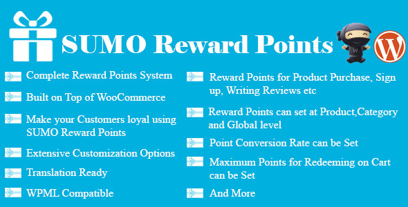 CodeCanyon SUMO Reward Points WooCommerce Reward System 7791451