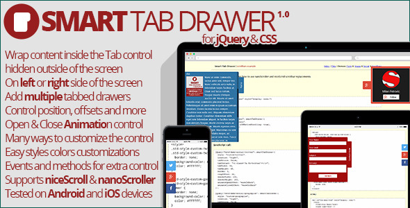 CodeCanyon Smart Tab Drawer 7791742