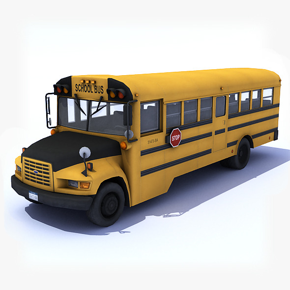 3DOcean School Bus 7791844
